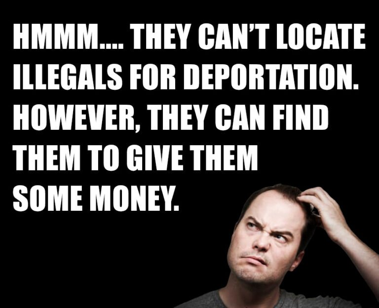 They Can't Locate Illegals!
